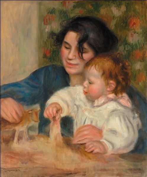 """De quel peintre nous vient le tableau """"Gabrielle et Jean"""" ?"""