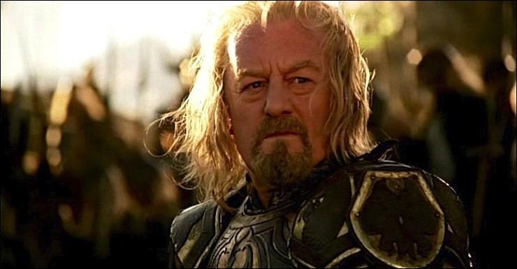 Espèce : RohirrimFamille : Fils de ThengelDescription : Cheveux blancs et barbu À savoir : Lorsqu'il était enfant il a côtoyé Aragorn Quel est ce personnage ?