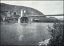 Le 25/08/1825 est inauguré un pont un peu spécial entre Tain (26) et Tournon (07).Mais qu'avait-il donc de spécial, ce pont que l'on doit au talent de Marc Seguin, neveu des frères Montgolfier ?