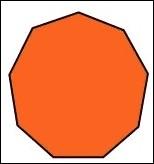 Quel est le nom d'un polygone à 9 côtés ?