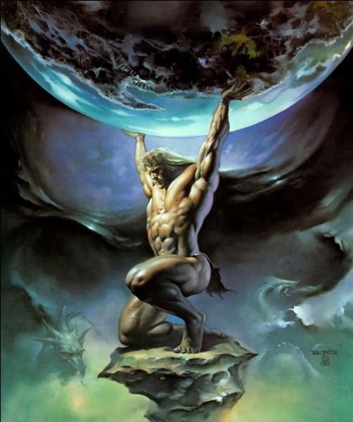 Pourquoi Atlas est-il condamné à porter la voûte céleste sur ses épaules ?