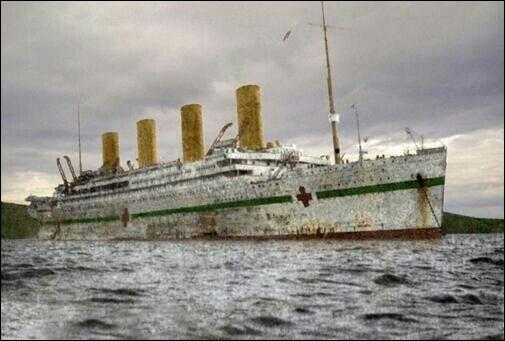 En combien de temps le HMHS Britannic a-t-il sombré ?