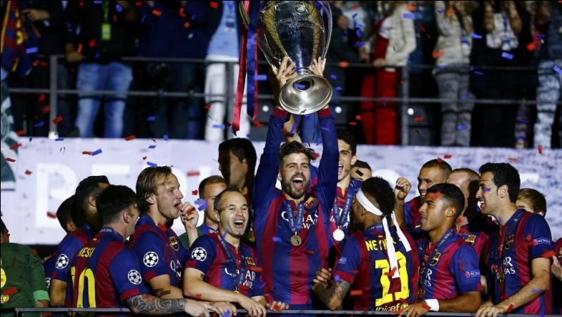 Combien de fois le FC Barcelone a-t-il remporté la Ligue des champions ?