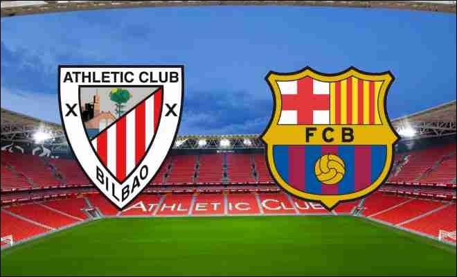 En début de saison 2019/2020, sur quel score le Barça s'est-il incliné pour son premier match de Liga face à Bilbao ?