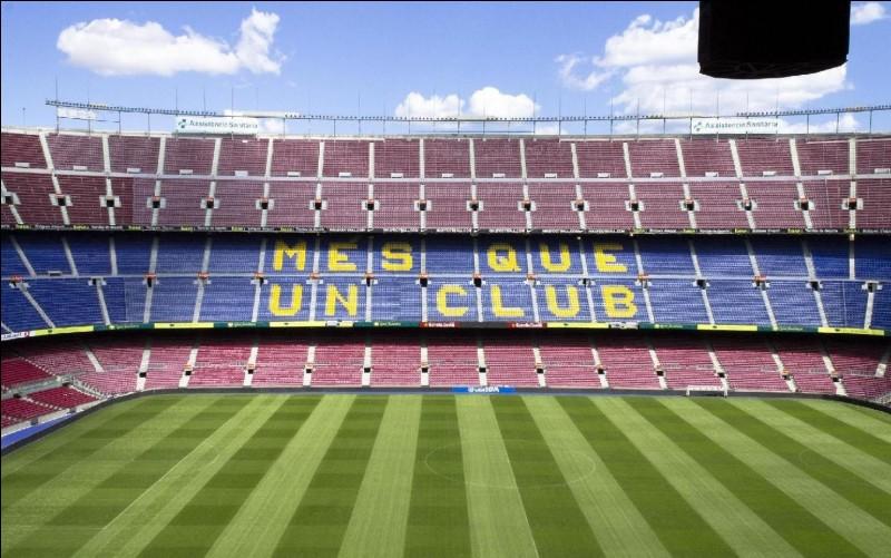 En quelle année le Camp Nou a-t-il été inauguré ?