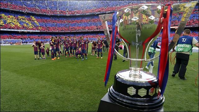 Combien de fois le Barça a-t-il remporté le championnat d'Espagne ?