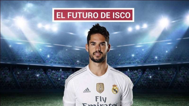 Pendant ce mercato, Isco a failli partir dans un club anglais où il aurait retrouvé un compatriote espagnol. Quels sont le club et le compatriote ?