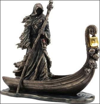 Quel est le nom du démon qui tient la barque pour faire traverser les Enfers aux morts ?