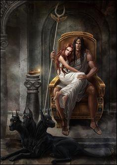 Comment s'appelle la femme du dieu des Enfers enlevée à sa mère ?