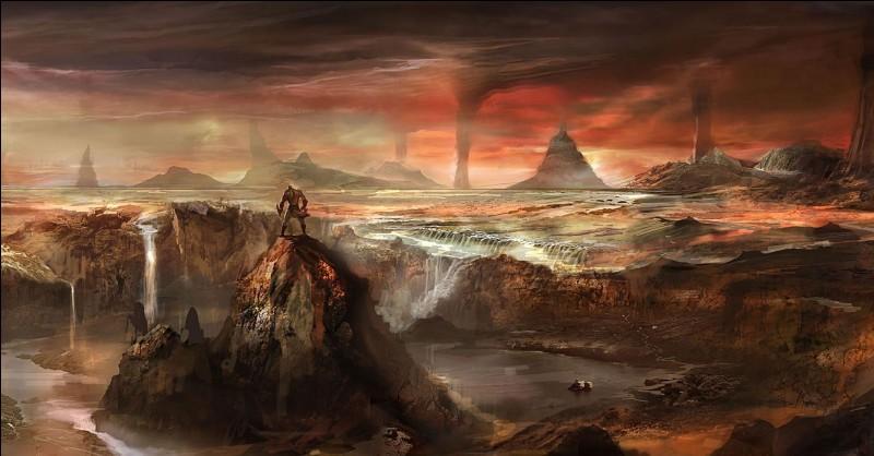 Quel est le nom de la partie la plus sombre des Enfers où ont été enfermés, un certain temps, les Cyclopes et les Hécatonchires ?