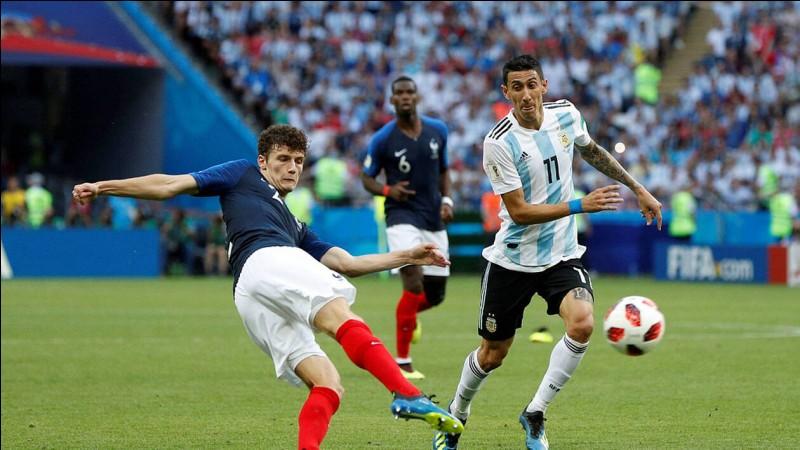 Numéro 2 : Je sors de nulle part avec une frappe de bâtard face à l'Argentine. Qui suis-je ?