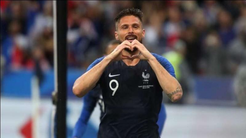 Numéro 9 : J'ai participé à tous les matches de la Coupe du Monde 2018 (7 matches) mais je n'ai marqué aucun but. Je suis...
