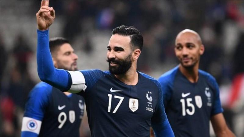 Numéro 17 : À la Coupe du Monde 2018, je n'ai pas joué une seule minute.