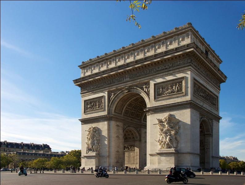 Quelle est la hauteur de l'Arc de Triomphe à Paris ?