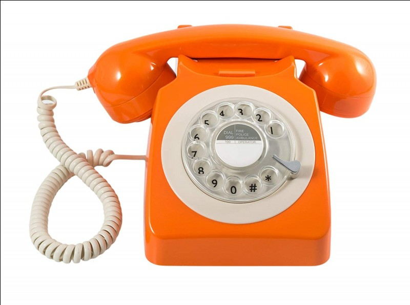 Lorsque le téléphone sonne, tu entends :
