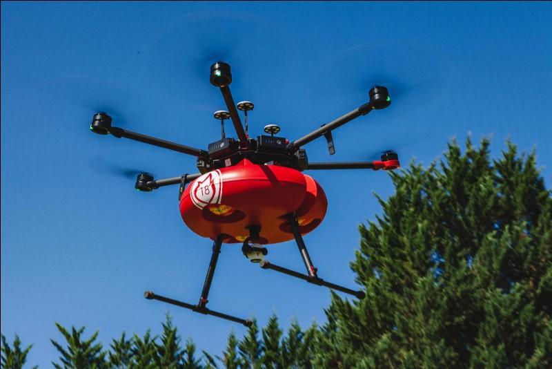 À de courte distance, ce petit robot volant permet aux pompiers de voir en hauteur grâce à une caméra dernier cri. C'est un...