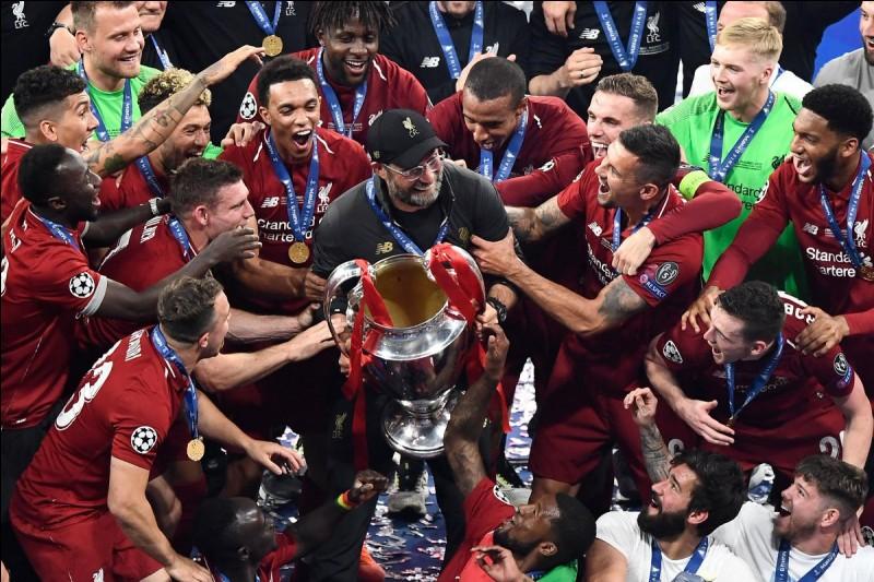 En quelle année Liverpool a-t-il gagné son dernier championnat ?