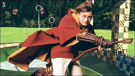 Quel est le premier balai de Harry ?