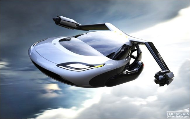 De quelle couleur la voiture volante des Weasley est-elle ?