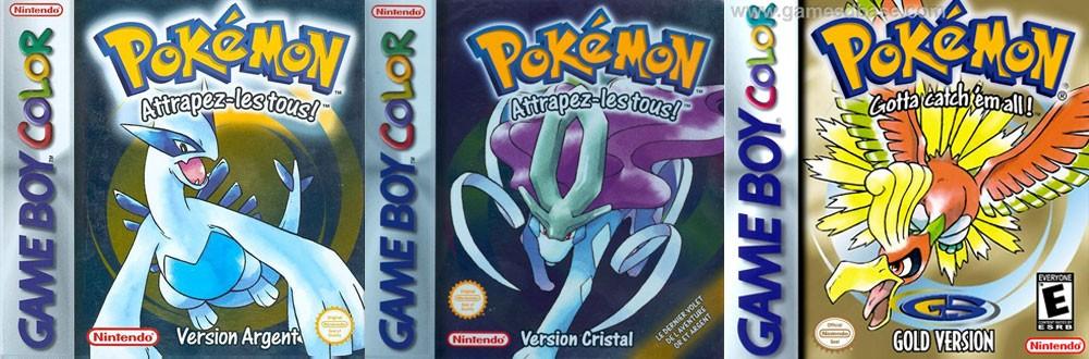 Pokémon versions Or/Argent/Cristal