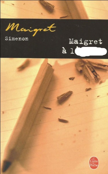 En 1953, où va Maigret ?