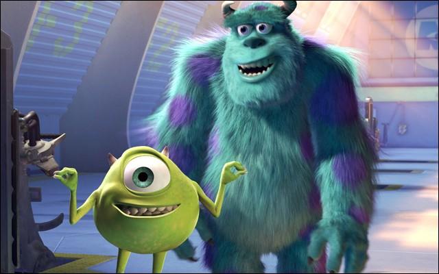 """""""Monstres et Cie"""" (2001) est un film d'animation des studios Disney."""