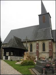 Nous sommes à présent en Normandie devant l'église Saint-Jean-Baptiste de Bosc-Bordel. Commune du Pays de Bray, elle se situe dans le département ...