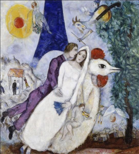 """Quel peintre est l'auteur du tableau """"Les Mariés de la Tour Eiffel"""" ?"""
