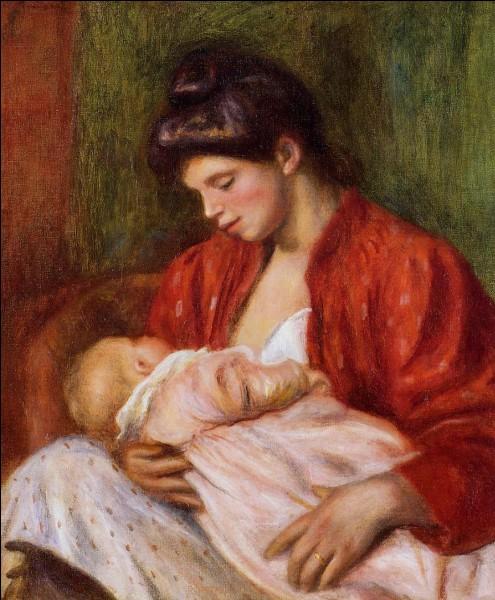 """Qui a peint le tableau """"La Jeune Mère """" ?"""