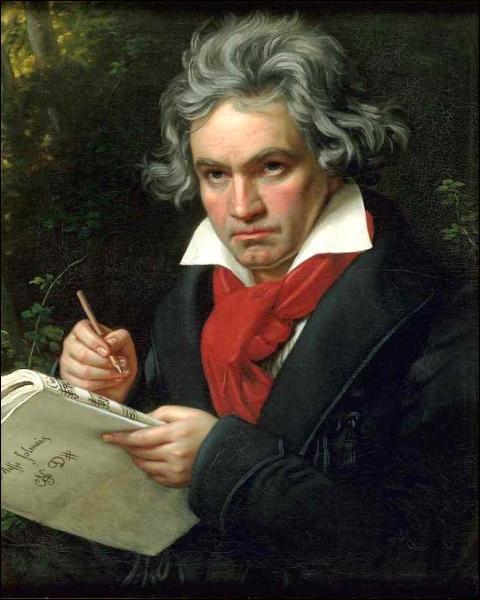 Ce compositeur allemand est surtout célèbre pour ses neuf symphonies. Qui est-ce ?