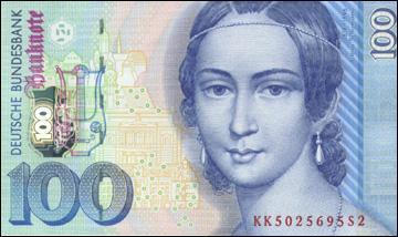 En 1998, quelle était la monnaie allemande ?