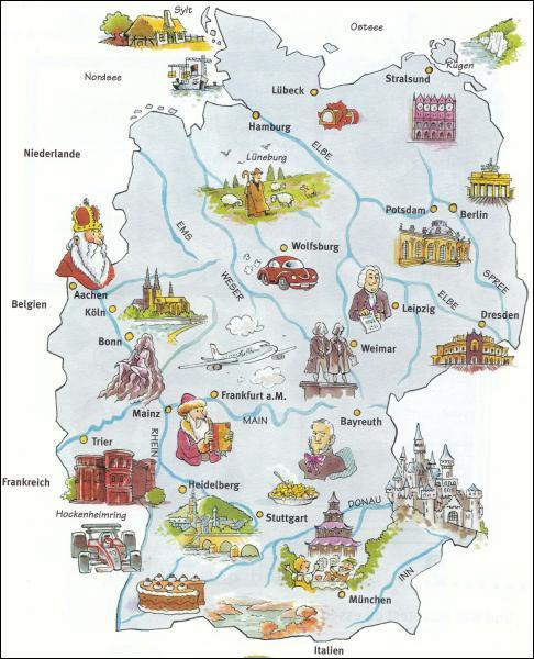 En France, nous avons des départements. En Allemagne, ce sont des Länder. Combien en existe-t-il ?
