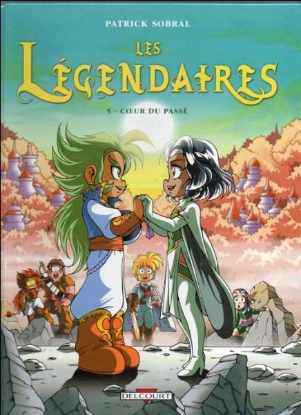 """Dans """"Cœur du passé"""", dans la temporelle les Légendaires sont séparés en 2 groupes. Lesquels ?"""