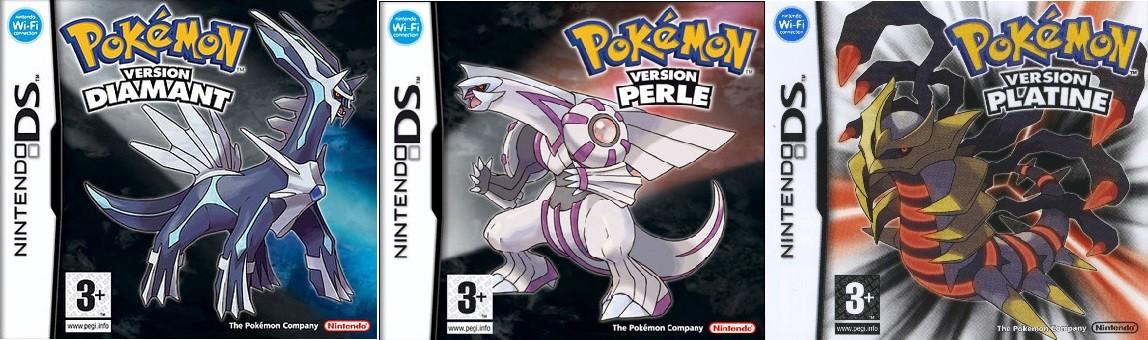 Pokémon versions Diamant/Perle/Platine