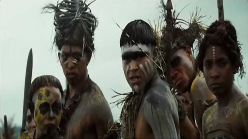 Tu te promènes dans la jungle amazonienne. Soudain, tu rencontres une tribu amazonienne or que tu ignores que ce sont des cannibales qui veulent te manger. L'un d'entre eux commence à te lécher et à te renifler pour voir si tu as un bon goût ! Que fais tu ?