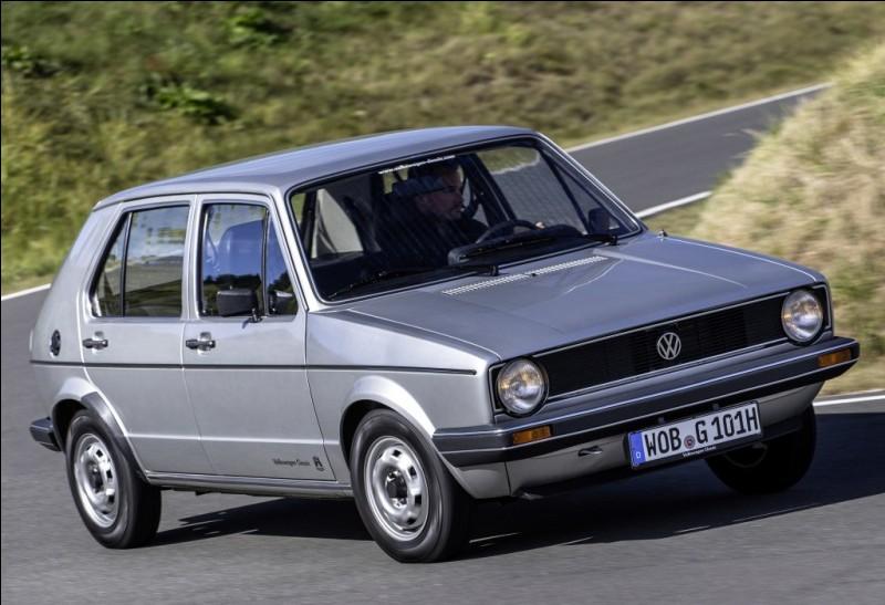 Quand la production de la Volkswagen Golf 1 Berline fut-elle arrêtée ?