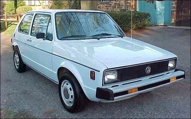 Pour quel pays a été produit le modèle Golf 1 ?