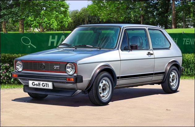 De quelle motorisation fut équipée la première Golf 1 GTI ?