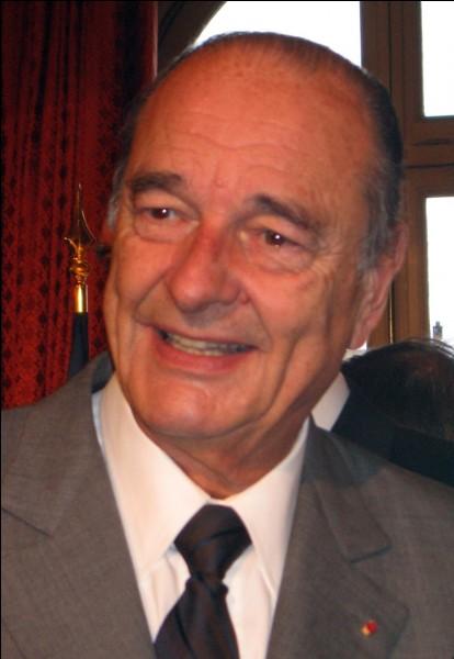 En quelle année, Jacques Chirac fut-il élu président ?