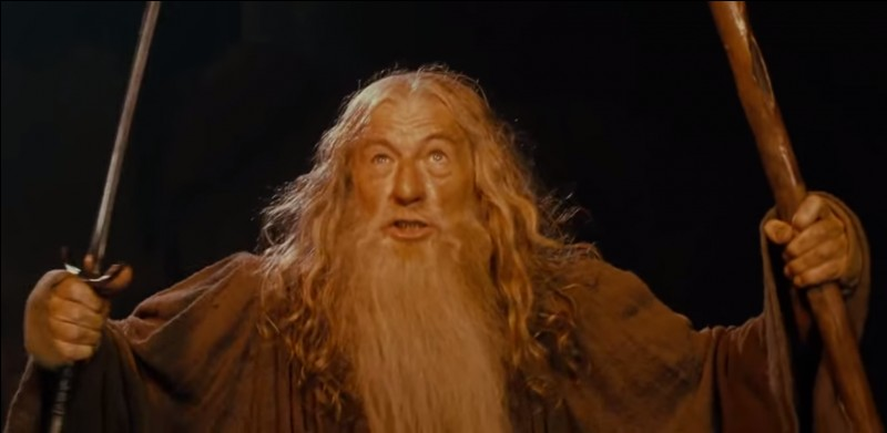 """""""Vous ne passerez pas !""""Dans quel film, Gandalf s'énerve-t-il comme ça ?"""