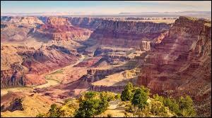 Dans quel État des États-Unis peut-on voir le parc national du Grand Canyon ?