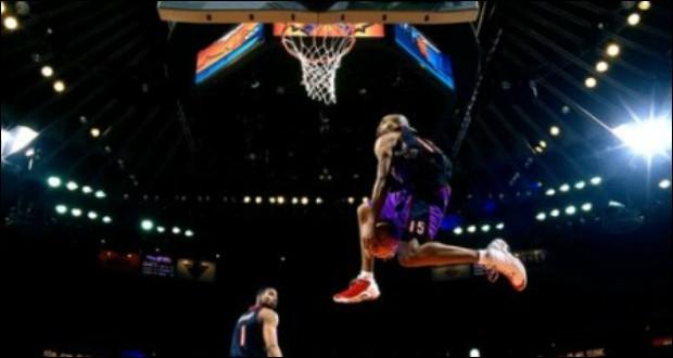 Quel est ce dunk sous la jambe ?