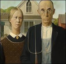 """Qui a peint """"American Gothic"""" au XXe siècle ?"""
