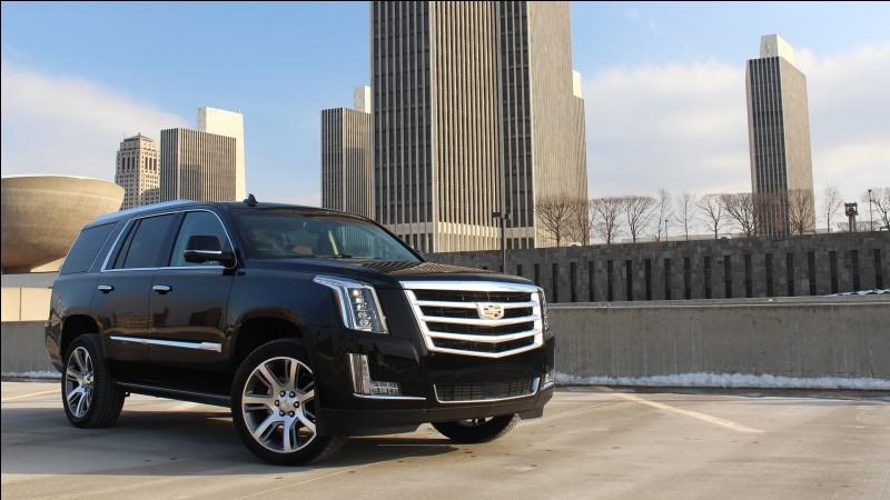 Au vu de son nom, ce n'est absolument pas pour rien si c'est le point culminant de la gamme SUV de Cadillac.