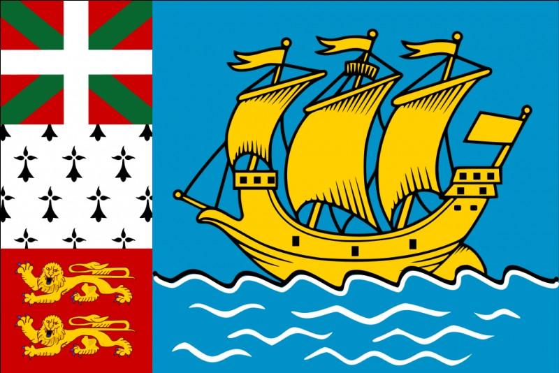 Et ce drapeau, à quel territoire appartient-il ?