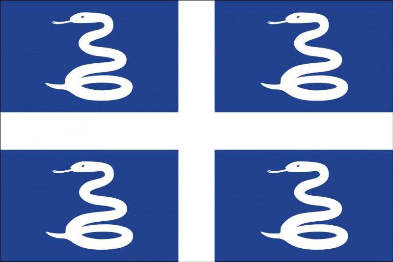 Quel est le territoire arborant ce drapeau ?