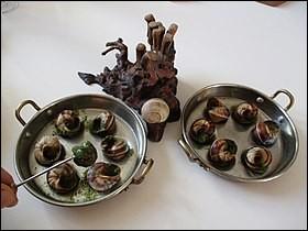 Comment sont préparés les escargots de Bourgogne ?