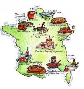 Les plats régionaux