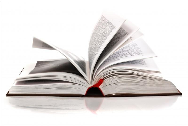 """Retrouve le mot qui veut dire """"un livre""""."""