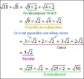 Ton prof de maths t'appelle au tableau pour résoudre un exercice ! Que fais-tu ?